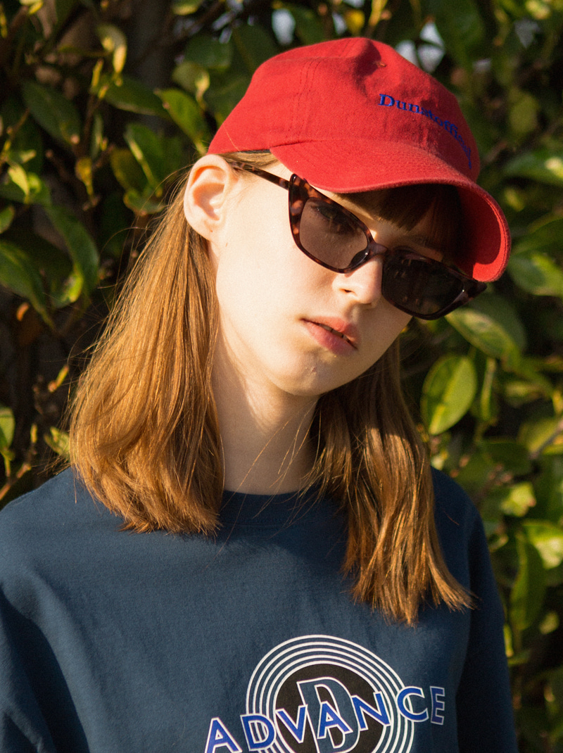 UNISEX DUNST OFFICIAL BALL CAP (DARK RED)
