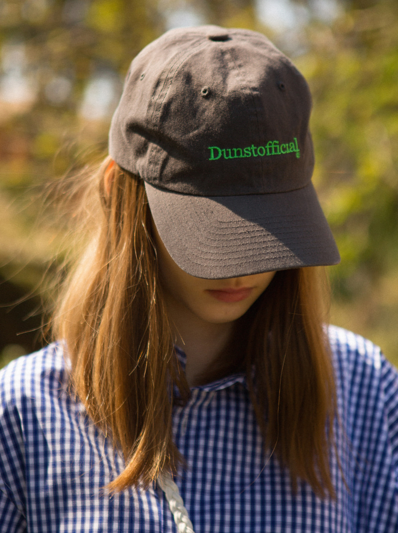 UNISEX DUNST OFFICIAL BALL CAP (CHARCOAL GREY)