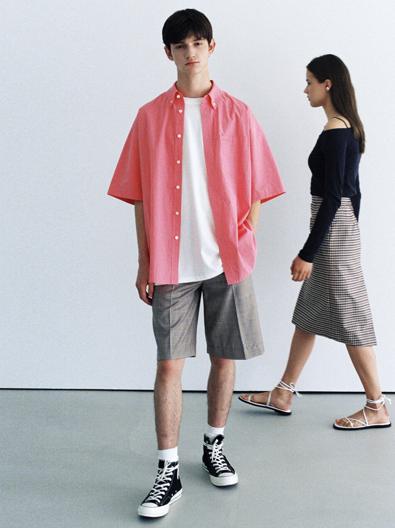 UNISEX DUNST OFFICIAL OVERSIZED SHIRT (PINK)